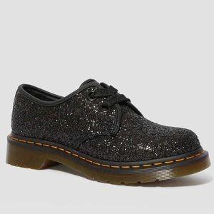 Black Farrah 1461 Chunky Glitter